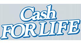 CASH FOR LIFE logo